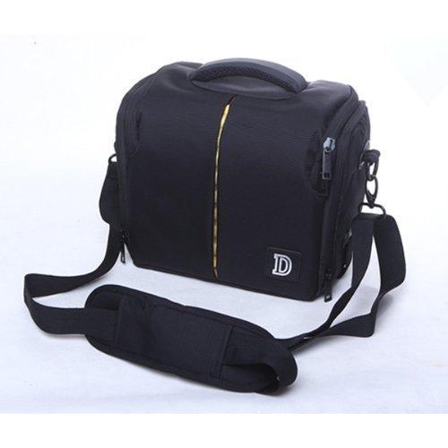 YSYT Deal Waterproof Camera Case Bag DSLR Camera Shoulder Bag Portable Video Bag Case For Nikon D800 D700 D7000 D90 D300S D3100 Canon EOS 600D Nikon Sony SumSang 25*14*19CM