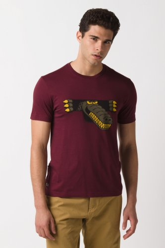 L!Ve Short Sleeve Novelty Croc Graphic T-Shirt