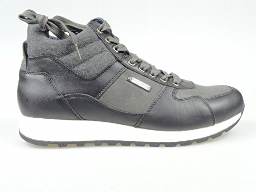 HENRY COTTONS BARN SNEAKERS UOMO [162.M.546 501 71] - 40, NERO