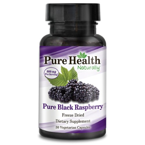 Pure Heath Black Raspberry - 800 Mg Capsules - 30 Count