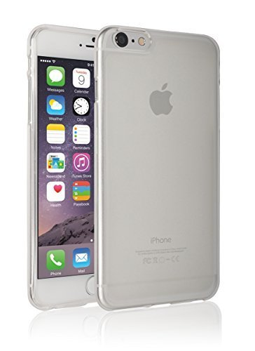 iPhone6 Plus Case, Apple iPhone 6 Plus Matt Aqua, Mobile Soft Jelly Case - Retail Packaging (White) (Iphone 6 Soft Jelly compare prices)