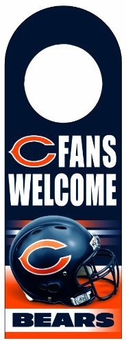 NFL Chicago Bears Wood Door Hanger
