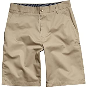 Fox Racing Essex Youth Boys Short Fashion Pants - Dark Khaki / Size 28