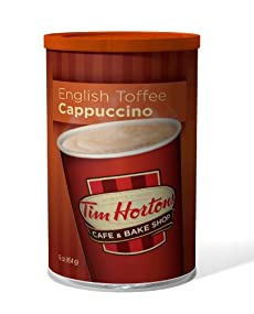 Hot Cappuccino - English Toffee