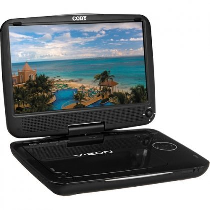 Coby TFDVD9109 Portable DVD Player 9