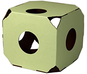 Catty Stacks Modular Cat Condos, Pistachio Green
