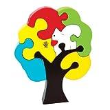 Skillofun Take Apart Puzzle Tree Squirrel, Multi Color