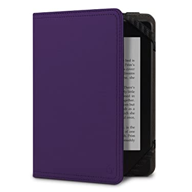 MarBlue Vassen for Kindle Case, Purple (Fits Kindle Paperwhite, Kindle and Kindle Touch)