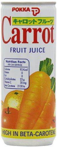 Pokka Carrot Fruit Juice 240 ml (Pack of 8)