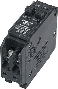 Connecticut Electric UBITBBD1520 T&B Circuit Breaker, Two-1-Poles 15/20-Amp