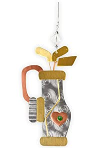 Pilgrim Imports Golf Bag Fair Trade Ornament
