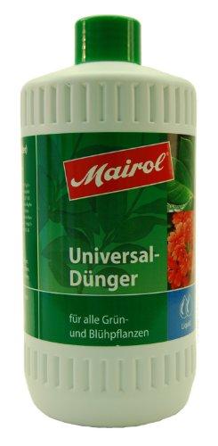 Mairol 2100 Universaldünger für alle Grün- und Blühpflanzen, Liquid, 1000 ml