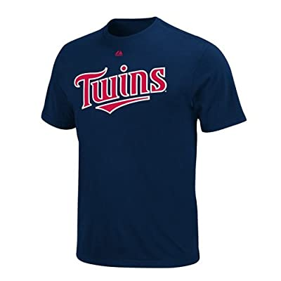 Minnesota Twins Majestic Wordmark T-Shirt