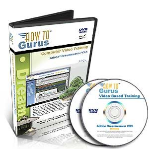 Adobe Dreamweaver CS5 Tutorial Training on 2 DVDs, 18 Hours in 259 Video Lessons, new computer software instruction