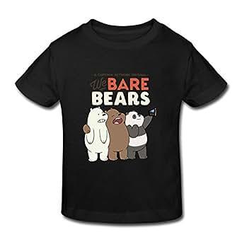 Design Crew Neck Geek We Bare Bears Kids