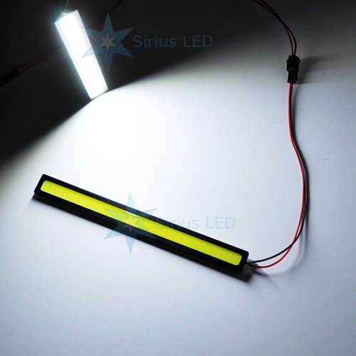 Cob Universal Add On Ultra Bright Led Day Time Running Light Lamp Drl