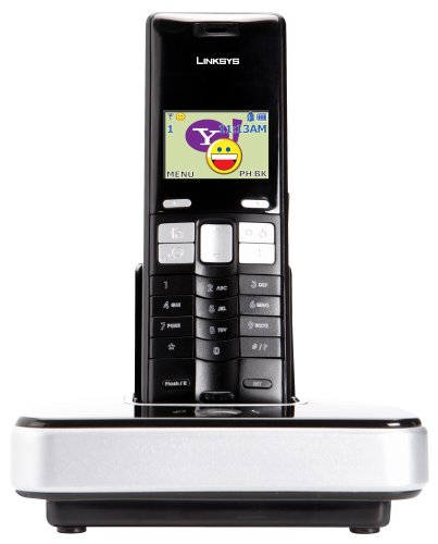 Cisco-Linksys CIT310 Dual-Mode Cordless Phone for Yahoo! Messenger