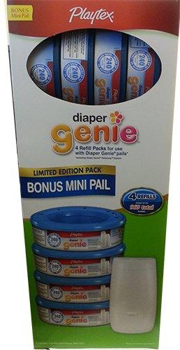 diaper-genie-essentials-diaper-disposal-mini-pail-with-4-refills-960-total-by-playtex