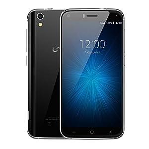 Umi London MTK6580 Sim-Free Unlocked Android 6.0 Mobile Phone Smartphone - Dual-SIM - 1280*720 QHD - Touch screen smartphone -Black