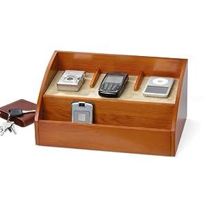 charging station and desk organizer for handheld electronics. Black Bedroom Furniture Sets. Home Design Ideas