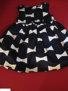 Kate Spade Gap BabyGap Bow Print Dress designer GapKids size 2 2T year diaper cover