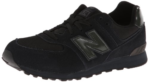 New Balance Kl574 Grade Running Shoe (Big Kid),Black,6.5 M Us Big Kid