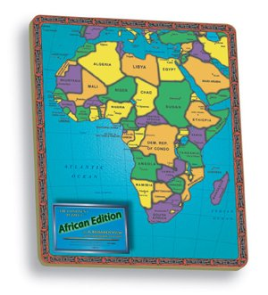 The Continent Puzzles: African Edition. Educational, 37 Pieces