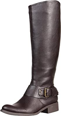 Jessica Simpson Women's JS-Beatricy Riding Boot,Brown Classic,9.5 M US