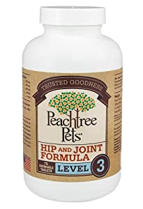Glucosamine Chondroitin Plus MSM for Dogs - Hip & Joint Formula Level 3 - 75 Chewable Tablets