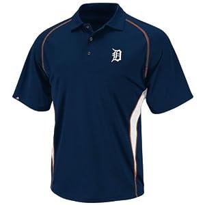 Detroit Tigers Athletic Advantage Blue Polo Shirt by VF
