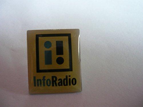 PIN ANSTECKNADEL - Original Radio - und Fernsehsender Info Radio