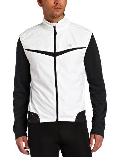 Pearl Izumi 2011 Men's Elite Barrier Cycling Vest - 11131016 (White/Black - XXL)