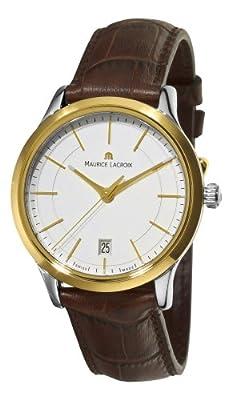 Maurice Lacroix Men's LC1117-PVY11130 Les Classiques Quartz Two Tone Case Watch