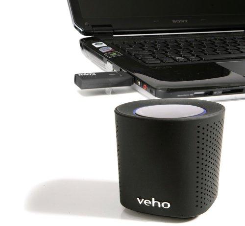 Veho Vss-002W-Blk Mimi Z1 2.4 Ghz Wifi Speaker System With Transmitting Dongle