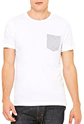 Bella+Canvas Men's Fitted Jersey Pocket T-Shirt