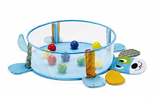 Earlyears-Pop-up-Puppy-Ball-Pit-Keeps-Little-Rollers-Crawlers-Entertained-while-Contained-Easily-Folds-into-Zipper-Storage-Bag-for-6-Months-Up