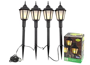 outdoor lamp post style lights low voltage mains powered. Black Bedroom Furniture Sets. Home Design Ideas