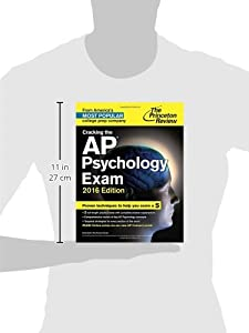 Cracking the AP Psychology Exam, 2016 Edition (College Test Preparation)
