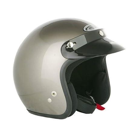 Nouveau 2015 Spada moto casque Open Face plaine blanche