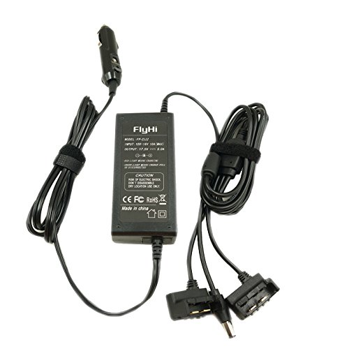 FlyHi Car Charger 2-Channel Battery Charger and One Remote Control