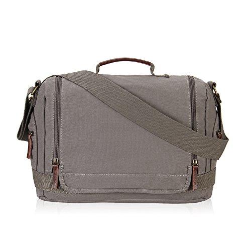 veevan-unisex-doppio-cerniere-con-canvas-shoulder-bag-messenger-grigio