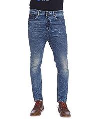 Jack & Jones Men Casual Jeans (5712835236510 Medium Blue Denim 38W x 34L )