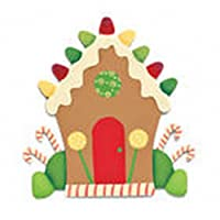 Embellish Your Story Gingerbread House Magnet