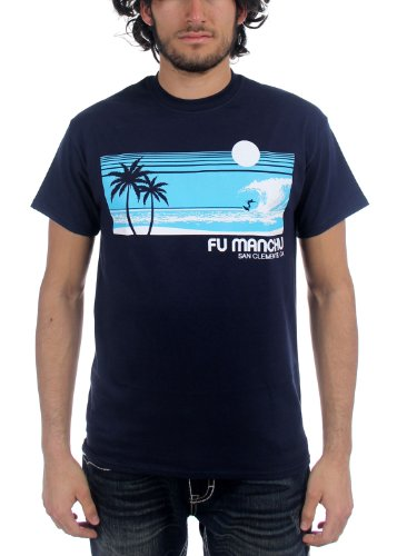 Fu Manchu -  T-shirt - Uomo Nayv Medium