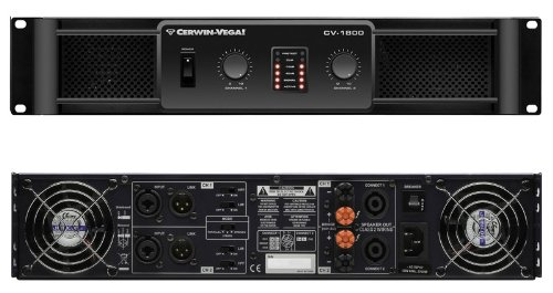 Cerwin-Vega Cv-1800 1800-Watt High Performance Professional Power Amplifier