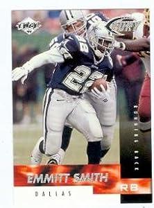 Emmitt Smith football card (Dallas Cowboys) 1999 Collectors Edge #126