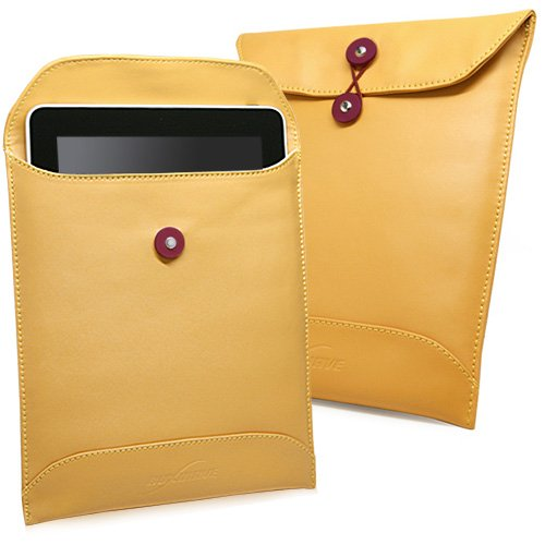 Manila iPad Leather Envelope