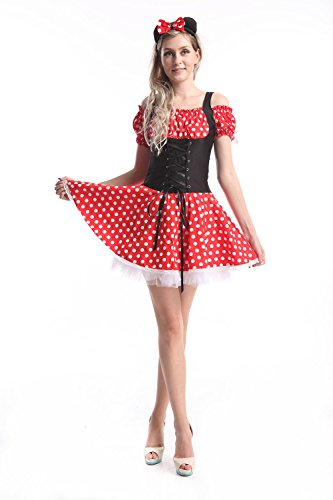 Walson Women's Miss Mouse Costume