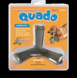 Quado Interactive Dog Bone, 7-Ounce Ginormous