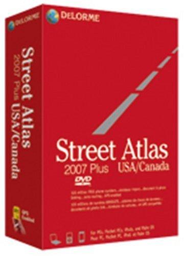 DeLorme Street Atlas 2007 Plus USA/Canada